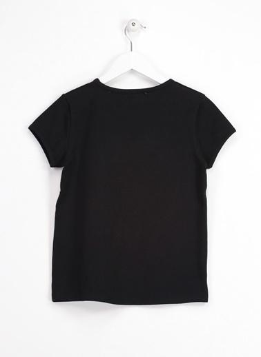 Morhipo Kids Gökkuşağı Desenli Tişört Siyah